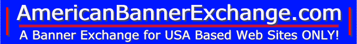 American Banner Exchange is for USA Web Site Ads ONLY!