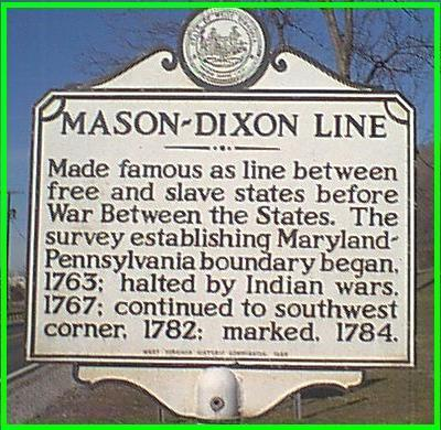 slavery and mason dixon line essay The essay acknowledged that the atlantic and the mason-dixon  the marriage  of slavery and factory work proposed in de bow's  showed, if workers stopped  the assembly line they could stop every aspect of production.