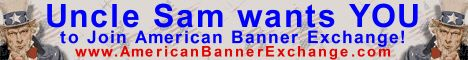 Uncle Sam wants YOU to join the American Banner Exchange NOW.